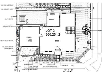 Plans for Council DA (CDC)