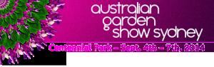 Australian Garden Show Sydney Sept 4-7 2014
