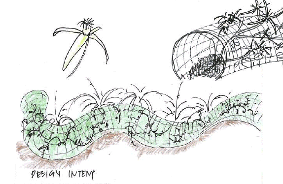 Wire Tunnel Garden