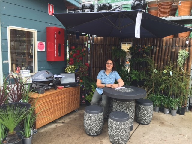 Designing Small Gardens- a talk at Bunnings